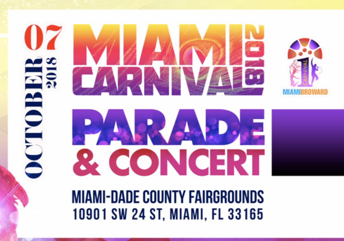 MIAMI Parade Of Bands Live with Concert