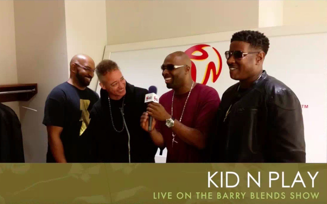 Kid n Play Live Interview